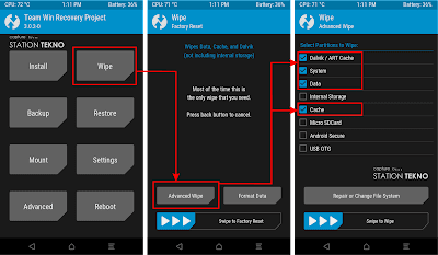 Install LineageOS 14.1 Nougat Xiaomi Mi 4C (Libra)