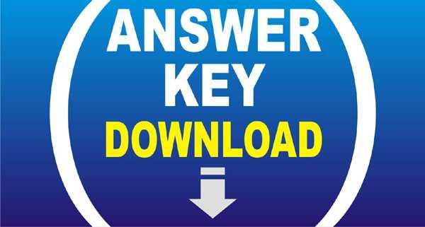 UPSC Answer Key: ESE Answer Key