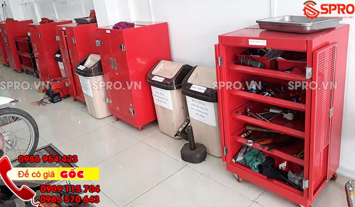 Hệ thống tủ đồ nghề 5 ngăn 2 cánh cho head honda
