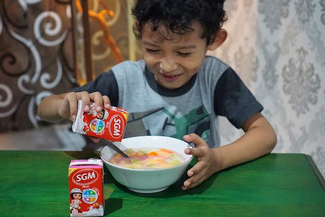 makanan untuk mendukung anak tumbuh tinggi