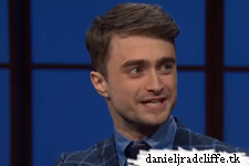 Daniel Radcliffe on Late Night with Seth Meyers