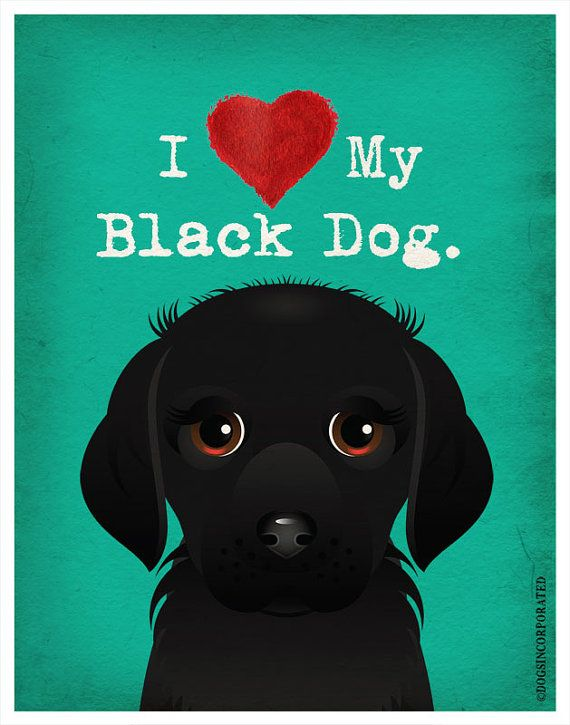 National Black Dog Day Wishes Photos