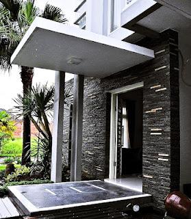 Teras Rumah Unik Sederhana 2017 Tampilan Model Baru