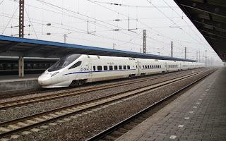 Αποτέλεσμα εικόνας για σιδηροδρομος υψηλω ταχυτητων κατασκευαζεται στην Κινα