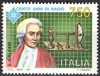 Italy - 1991 Radio centenary  Galvani