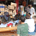 Tiga Pilar Kelurahan Roa Malaka Lakukan Monitoring Kepatuhan Protokol Kesehatan