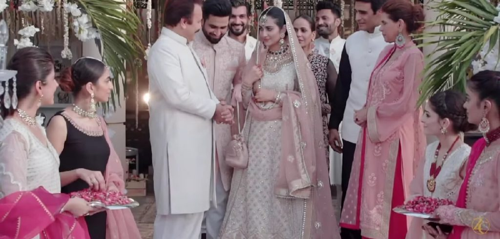 Zainab Chottani Recreates Sarah Khan And Falak Shabir Nikkah Ceremony