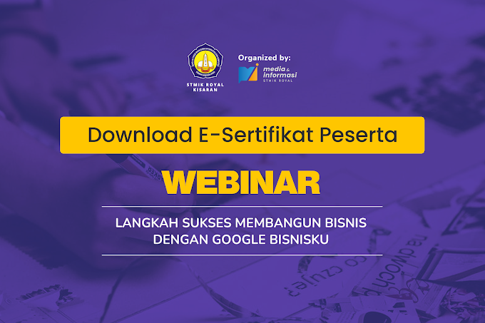 Download! E-Sertifikat Peserta Webinar Google Bisnisku!