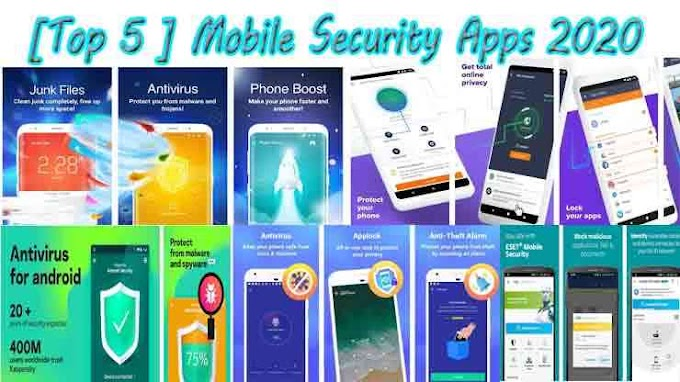 [Top 5 ] Mobile Security Apps 2020