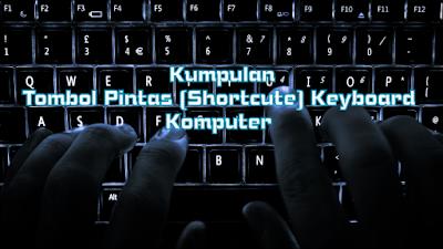 Kumpulan Shortcute Keyboard Komputer Beserta Fungsinya