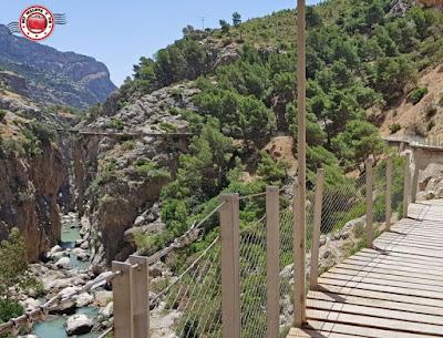 Caminito del Rey, Málaga, España