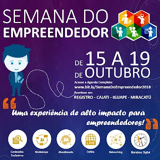 Semana do empreendedor em Miracatu
