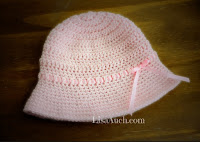 Toddlers Crochet Summer hat 6-12 months FREE PATTERN