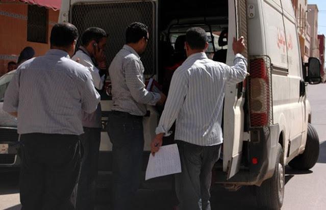 الشرطة تطلق الرصاص في الجديدة لتوقيف شقيقين مخدّرين وخرّبا سيارة بالشارع وواجها الشرطة بعنف
