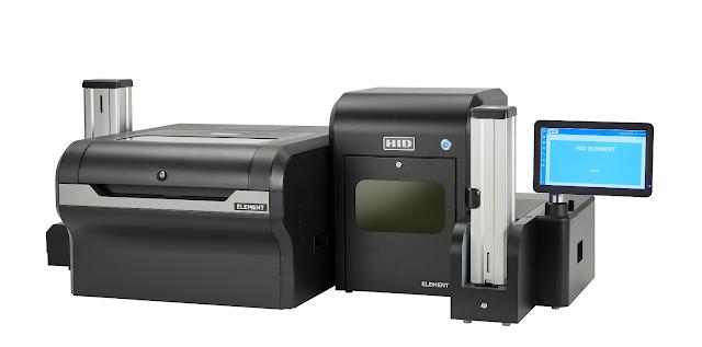 HID Element Card Printer