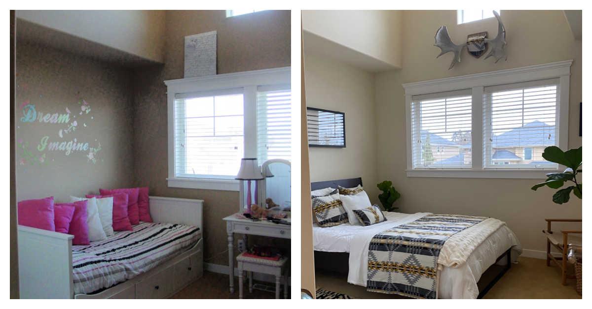 boho bedroom with cricut