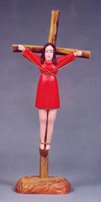 Mujeres crucificadas Crucified women santa librada liberata
