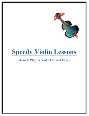 Speedy Violin Lessons |تحميل كتاب أساسيات الكمان للمبتدئين