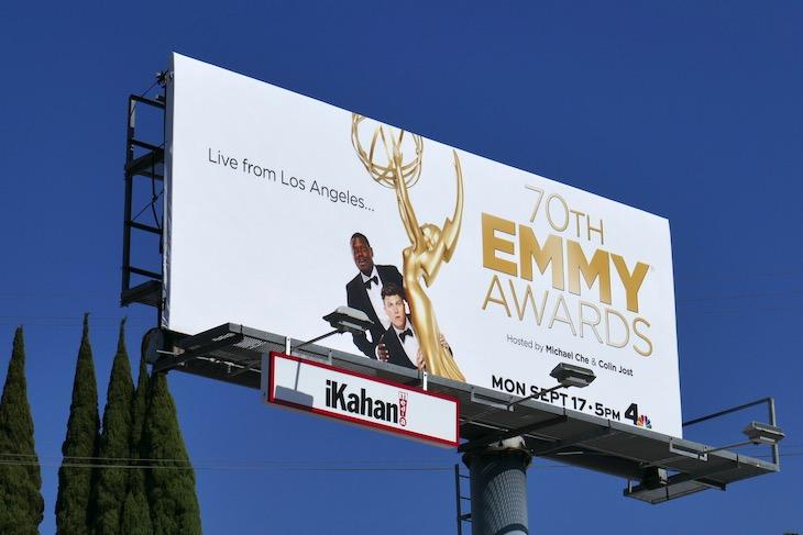 70th Emmy Awards billboard