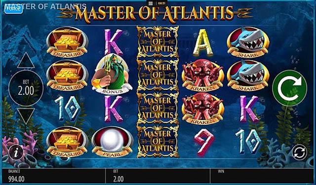 Ulasan Slot Blueprint Gaming Indonesia - Master Of Atlantis Slot Online