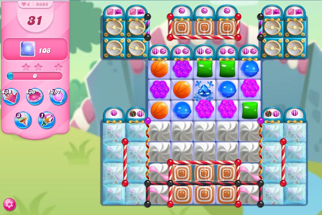 Candy Crush Saga level 9805