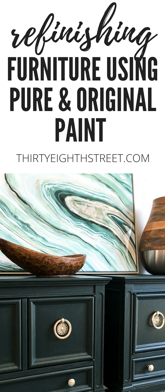 how to paint furniture, diy furniture refinishing, low voc paint, modern painted nightstands