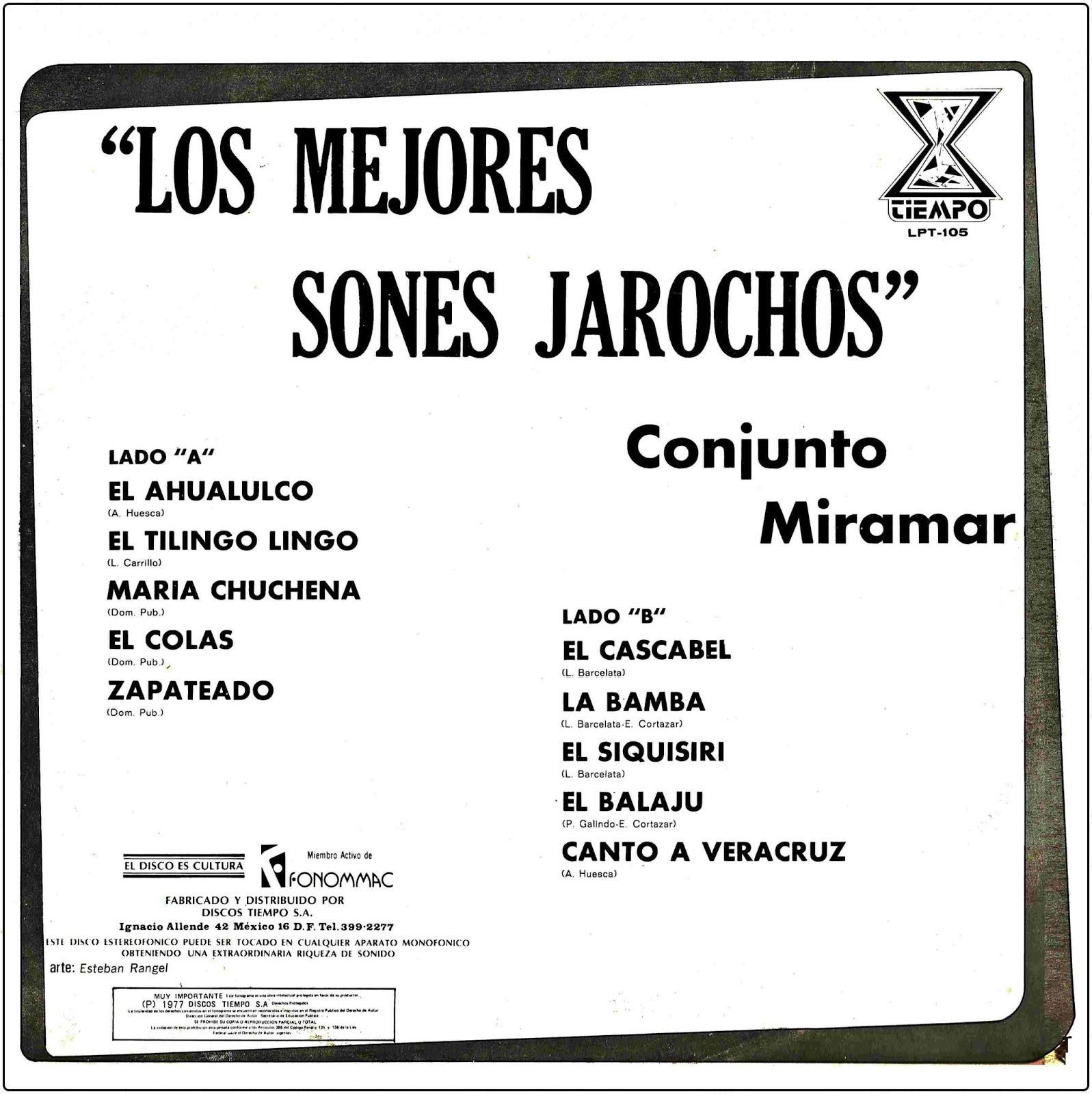 LOS MEJORES SONES JAROCHOS ~ Fonoteca de la danza
