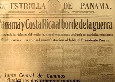 Un 20 de febrero de 1921 se toman los Poblados de Coto y Cotito de la jurisdicción panameña