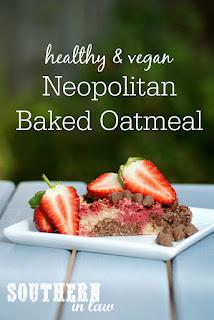 Healthy Neopolitan Baked Oatmeal Recipe Gluten Free