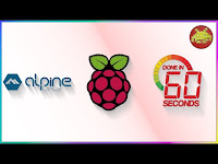 Alpine Linux [3.10] su Raspberry Pi 3 in 60 secondi!