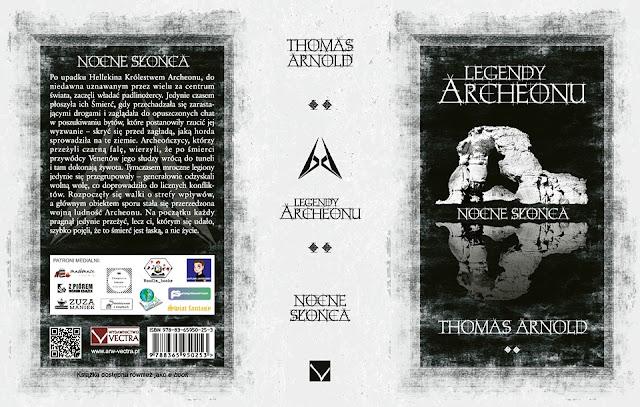 """""""Legendy Archeonu. Nocne słońca"""" pod patronatem medialnym Subiektywnie o książkach"""
