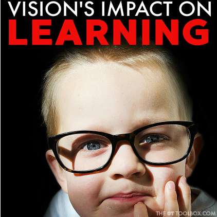 How do vision problems affect learning in kids and underlying visual processing problems that impact learning in kids.