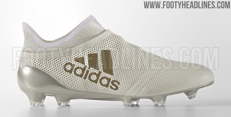 white brown adidas x 17 purespeed boots 2