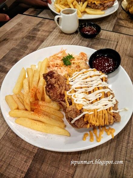 Baby Tector @ PinkGuy, makan-makan di Makan Culture Melawati Mall