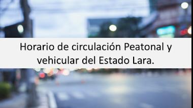 Gaceta-Oficial.com - Horarios de circulación vigente en Lara por el Covid-19