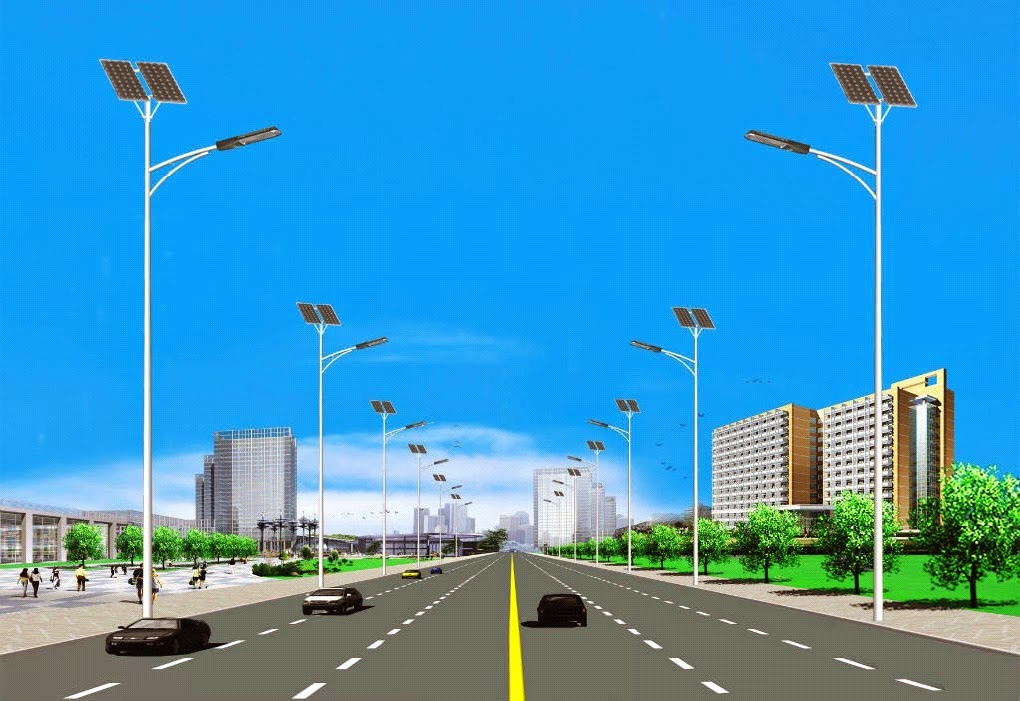 Lampu Jalan Solar Led Street Light