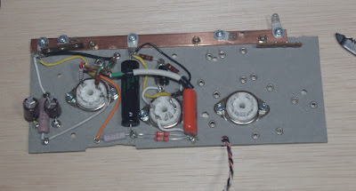 installing power amp driver elements