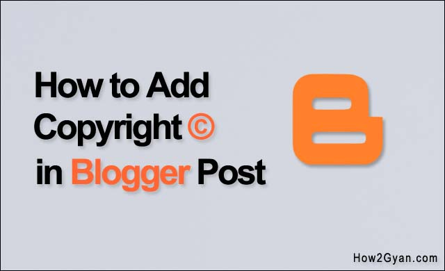 how-to-add-copyright-symbol-in-blogger