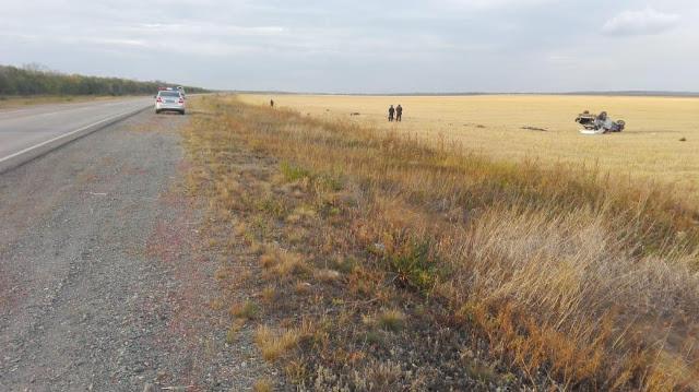 В Башкирии иномарка вылетела с дороги: водитель погиб