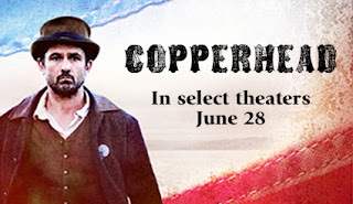 Enter to win the Copperhead Movie Prize Pack. Ends 6/9.