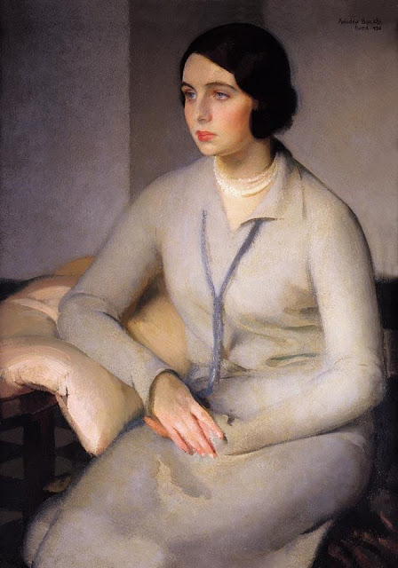 Amedeo Bocchi - Bianca in Gray - 1930