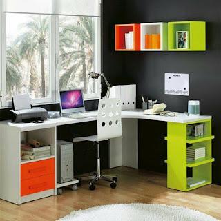 escritorio colorido