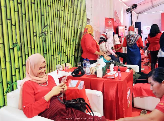 Area Bunda Santai Festival Bunda Generasi Maju Taman Tegallega Bandung