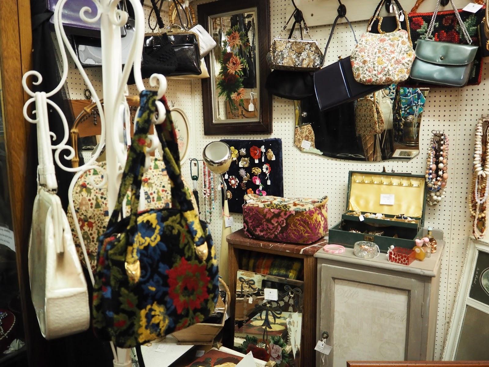 Focus on the Past vintage, secondhand antique shop Clifton Village Bristol