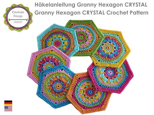 Ebook Granny Hexagon Crystal