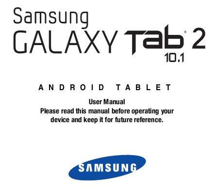 galaxy tab s user manual