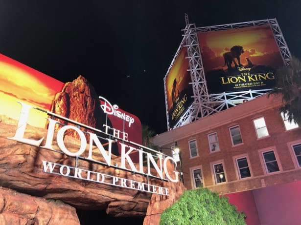 Lion King World Premiere Hollywood