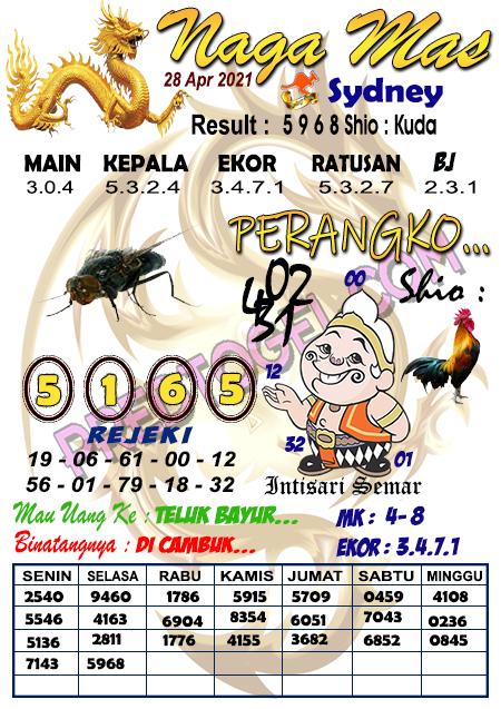 Syair Nagamas Sdy Rabu 28 April 2021