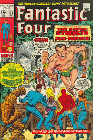 Fantastic Four #102, Sub-Mariner and Magneto