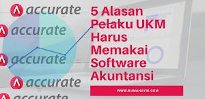 5 Alasan Pelaku UKM Harus Memakai Software Akuntansi